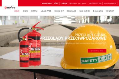 NOFIRE USŁUGI BHP I PPOŻ - BHP, ppoż, bezpieczeństwo Warszawa