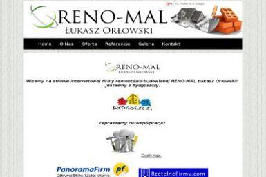 RENO-MAL Orłowski Łukasz - Elewacje Bydgoszcz