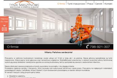 Remigiusz Zagól Tynki Maszynowe - Budowanie Dąbrowa Górnicza