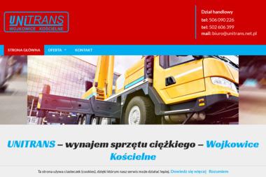 UNITRANS Sp. z o.o. - Kierownicy Budowy Wojkowice Kościelne