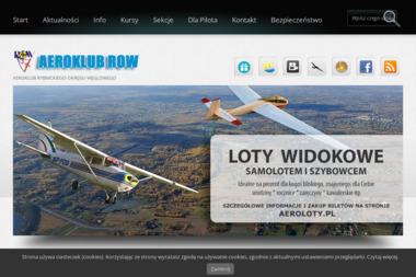 Aeroklub Rybnik - Dla górnictwa i kopalnictwa Rybnik