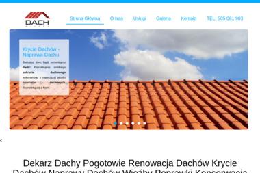 Dach Mistrz - Obróbki blacharskie Warszawa