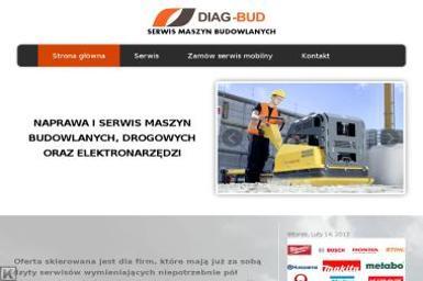 Diag-bud - Wypożyczalnia Zagęszczarek Włocławek