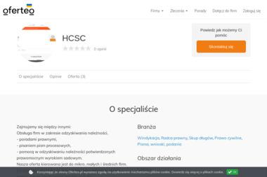 HCSC - Skup długów Piotrków Trybunalski