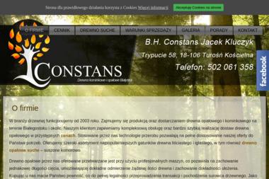 BH Constans - Drewno Rozpałkowe Turośń Kościelna