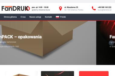 FANDRUK - Firmy obuwnicze Gołańcz