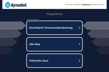 H2O GARDEN - Projektowanie ogrodów Bielsko-Biała