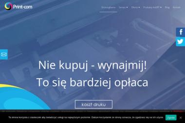 Print-com Adam Kucz - Kserokopiarki Katowice