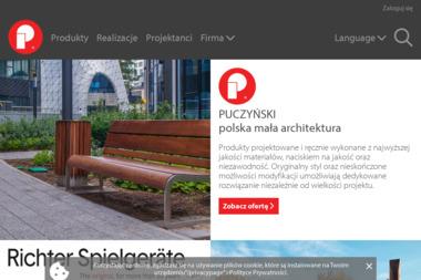 PUCZYŃSKI-mała architektura - Architekt Pruszków