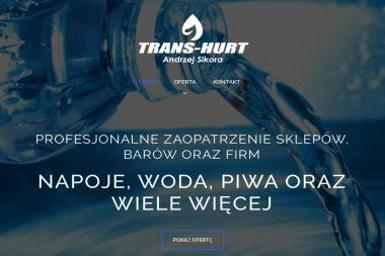 TRANS-HURT ANDRZEJ SIKORA - Woda Do Biura Pawonków