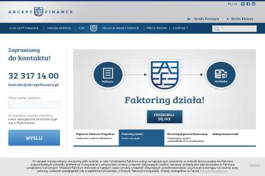 Akcept Finance S.A - Faktoring Mysłowice