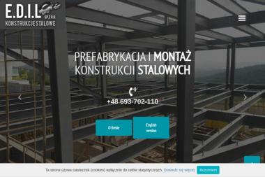 E.D.I.L. SPÓŁKA Z O.O. - Wykonanie Konstrukcji Stalowej Szczecin