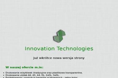 Mariusz Stebelski Innovation Technologies - Marketing w Internecie Kędzierzyn-Koźle
