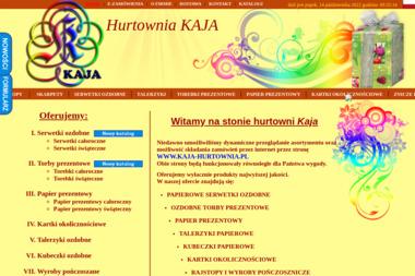 Hurtownia KAJA - Paczki Mikołajkowe dla Dzieci Warszawa
