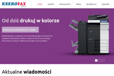 PHU KSEROFAX - Serwis sprzętu biurowego Kielce
