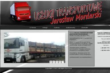 Usługi Transportowe Jarosław Mordarski - Studnie głębinowe Siemyśl
