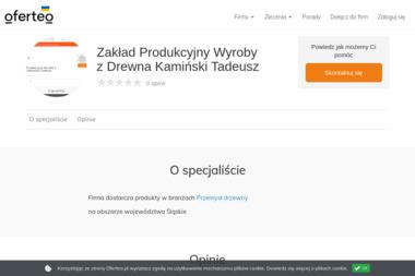 Zakład Produkcyjny Wyroby z Drewna Kamiński Tadeusz - Pokrycia dachowe Jeleśnia