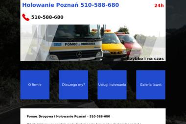 Holowanie poznań - Pomoc drogowa Poznań