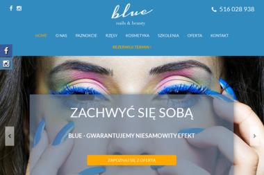 Paznokcie żelowe manicure pedicure hybrydowy Kraków Ruczaj - Salon Blue - Zabiegi na ciało Kraków