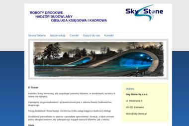 Sky Stone Sp. z o.o. - Nadzór budowlany Katowice