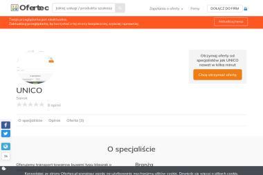 UNICO - Przeprowadzki międzynarodowe Sanok
