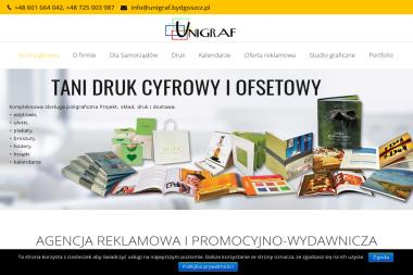 Agencja promocyjno-wydawnicza Unigraf - Druk katalogów i folderów Bydgoszcz