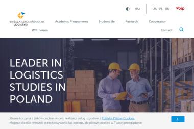 Wyższa Szkoła Logistyki - Uczelnie wyższe Poznań