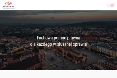 Kancelaria Adwokacka CSW Adwokaci - Adwokat Spraw Karnych Kraków