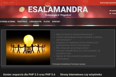 E-Salamandra - Strony WWW Bielsko-Biała