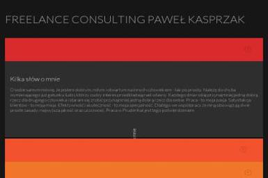 Freelance Consulting Paweł Kasprzak - Pozycjonowanie stron Suchy Las