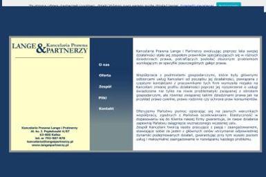 Kancelaria Prawna Lange i Partnerzy - Windykacja Kalisz
