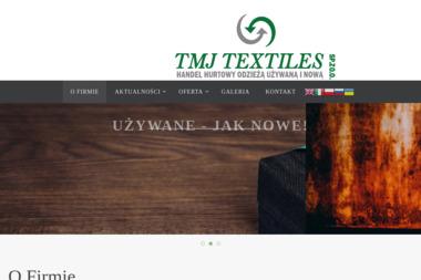 Tmj - Odzież używana Wiązowna