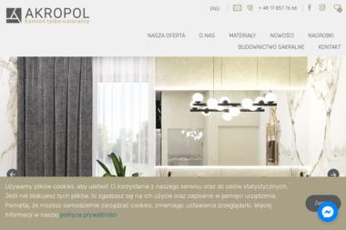Akropol S.C - Kamieniarstwo Rzeszów