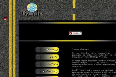 BANDO s.r.o - Transport międzynarodowy do 3,5t Zylina