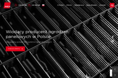 INEX - Montaż Ogrodzenia z Siatki Płońsk