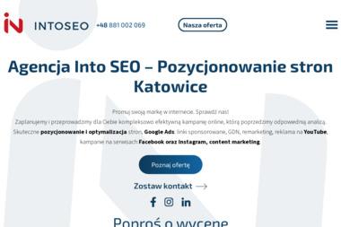 Intoseo - Strony internetowe Zabrze