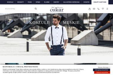 Krawaty z logo - OSKAR - Odzież męska Warszawa