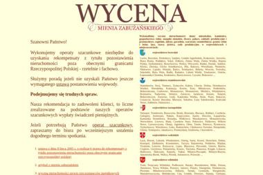 Wycena nieruchomości mienia zabużańskiego - Wycena Firmy Kraków