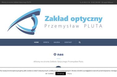 Zakład Optyczny Przemysław Pluta - Okulary, oprawy, optycy Łódź