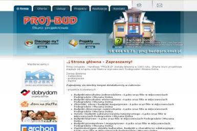 Firma - Usługowo - Handlowa PROJ-BUD Artur Dąbrowski - Projektowanie inżynieryjne Podegrodzie