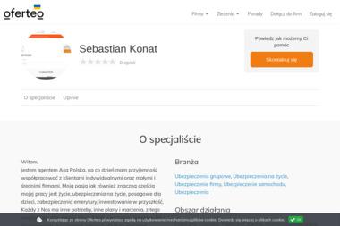 Sebastian Konat - Ubezpieczenie firmy Osiek