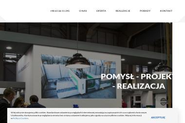 Studio Projketowania Versus - Stoiska targowe Poznań