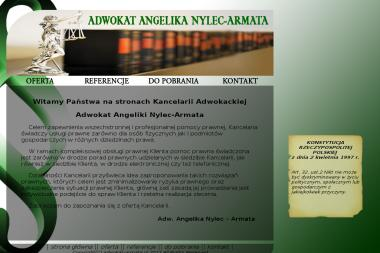 Kancelaria Adwokacka Adwokat Angelika Nylec - Armata - Adwokat Tarnów