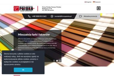 Firma Patoka - Styropian Września