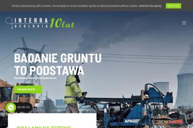INTERRA - Przedsiębiorstwo Geologiczne i Geotechniczne - Badanie Geologiczne Poznań