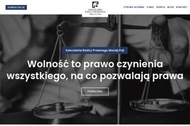 Kancelaria Radcy Prawnego Maciej Puk - Prawo Rodzinne Poznań
