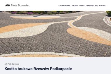 """""""AiP"""" Piotr Borowiec - Firma transportowa Rzeszów"""