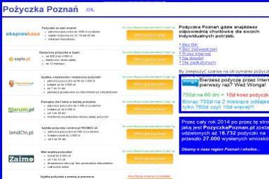 Pożyczka Poznań - Fundusze Emerytalne Poznań