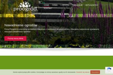 PROOGRÓD - Projektowanie ogrodów Białystok