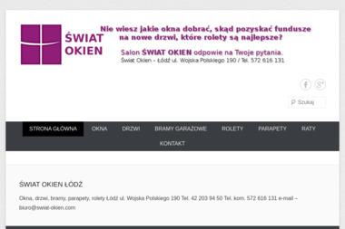 Swiat okien - Montaż drzwi Łódź